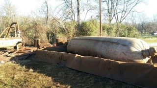 Pipeline Pigging Dust Bag